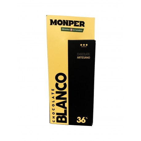 Chocolate Blanco 36% MONPER CHOCOLATE